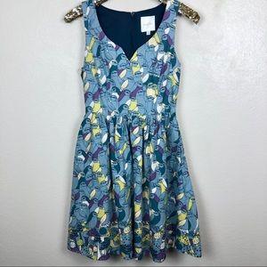 ModCloth • To Thrill A Mockingbird A-Line Dress